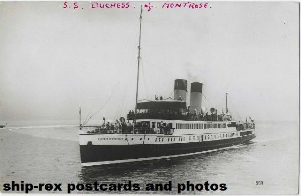 DUCHESS OF MONTROSE (Caledonian Steam Packet) photo (b)